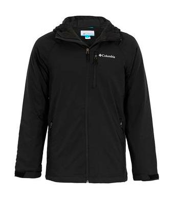 Columbia Highland Alpine 连帽夹克 黑色 M码 €57.99