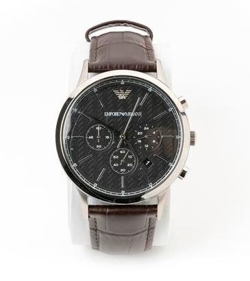 Armani 阿玛尼 男士手表 棕色表带 €120
