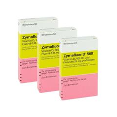 Zymafluor D500 婴幼儿维生素Dzhe 90粒 3盒装 €12.99