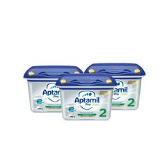 Aptamil 爱他美 白金版婴儿配方奶粉 2段 800gx3 €81.32