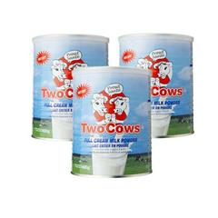 荷兰 TWO COWS 双牛成人奶粉罐装900Gx3 €37.35